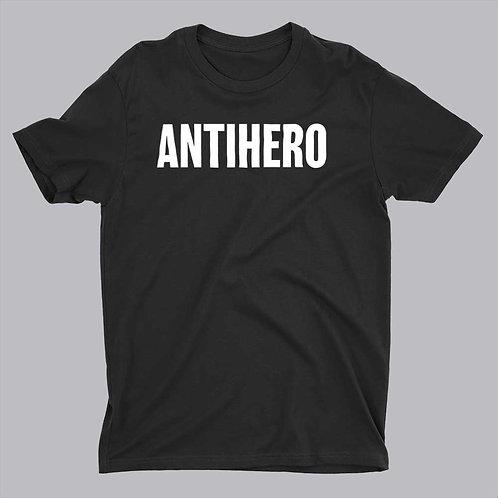 Antihero on black tshirt