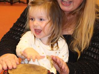 KOM 2019 Training voor musici, pedagogen en muziektherapeuten: Kind-Ouder-Muziek educatie 0-4 jarige