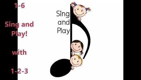 Lied 3-6 jaar: tellen en bewegen (Engels)