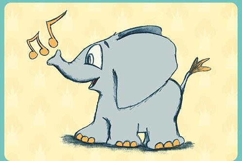 Een toeter olifant (Instrumentaal)