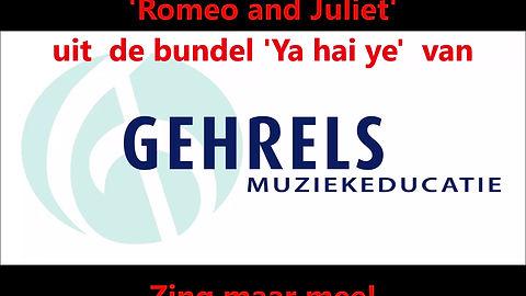 Lied 10-16 Engels. Romeo en Julia in een moderne setting.