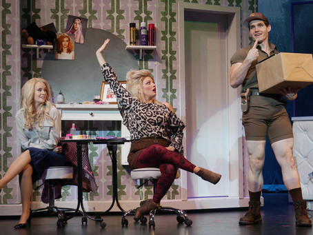 Legally blonde review Florida Theatre onstage-