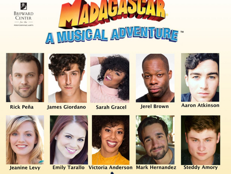 Cast in Madagascar!
