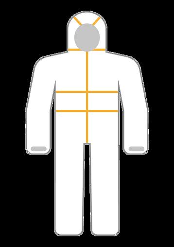 lamineli tulum tip 5-6 medikal klinik tu