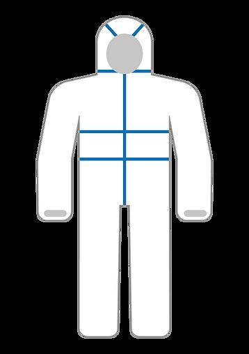 lamineli tulum tip 3-4 medikal klinik tu