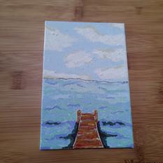 Dock - Left Over Paint Series