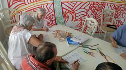 Pintando con Crayones