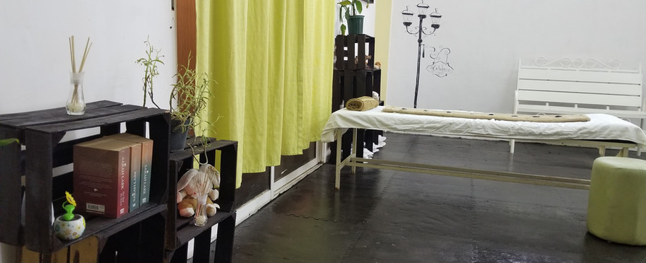 Area de masajes climatizada Golden Age Merida