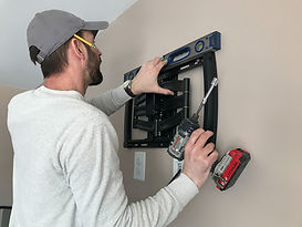 Man installing Smart Home Automation in Albuquerque
