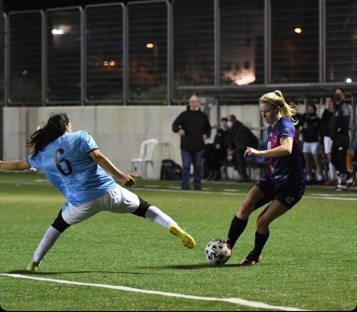 Jile Karn womens footballer for ASA Tel-Aviv