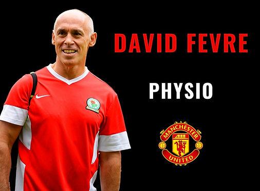 David Fevre physio Manchester Utd