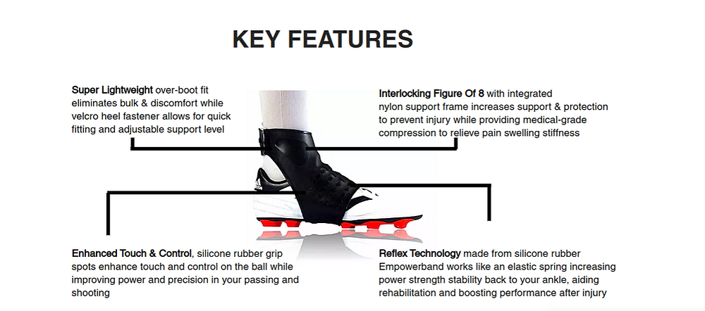 empowerband football ankle support