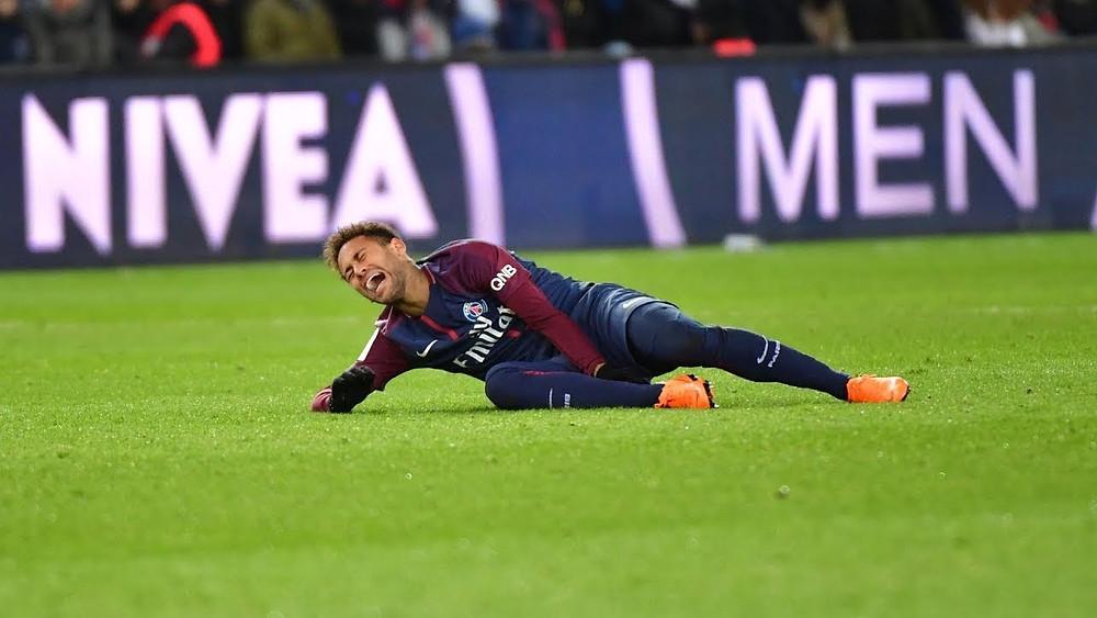 Neymar ankle sprain 2019