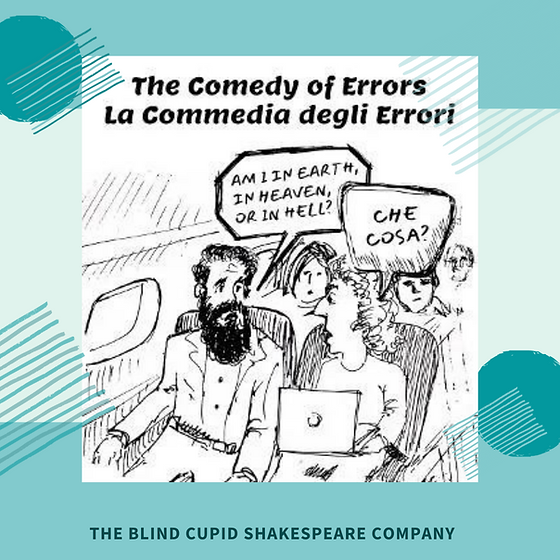 THE BLIND CUPID SHAKESPEARE COMPANY pres