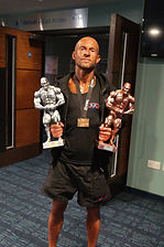 Bodybuilding Competition Winner
