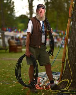 Rick Isaac 39 years volunteering