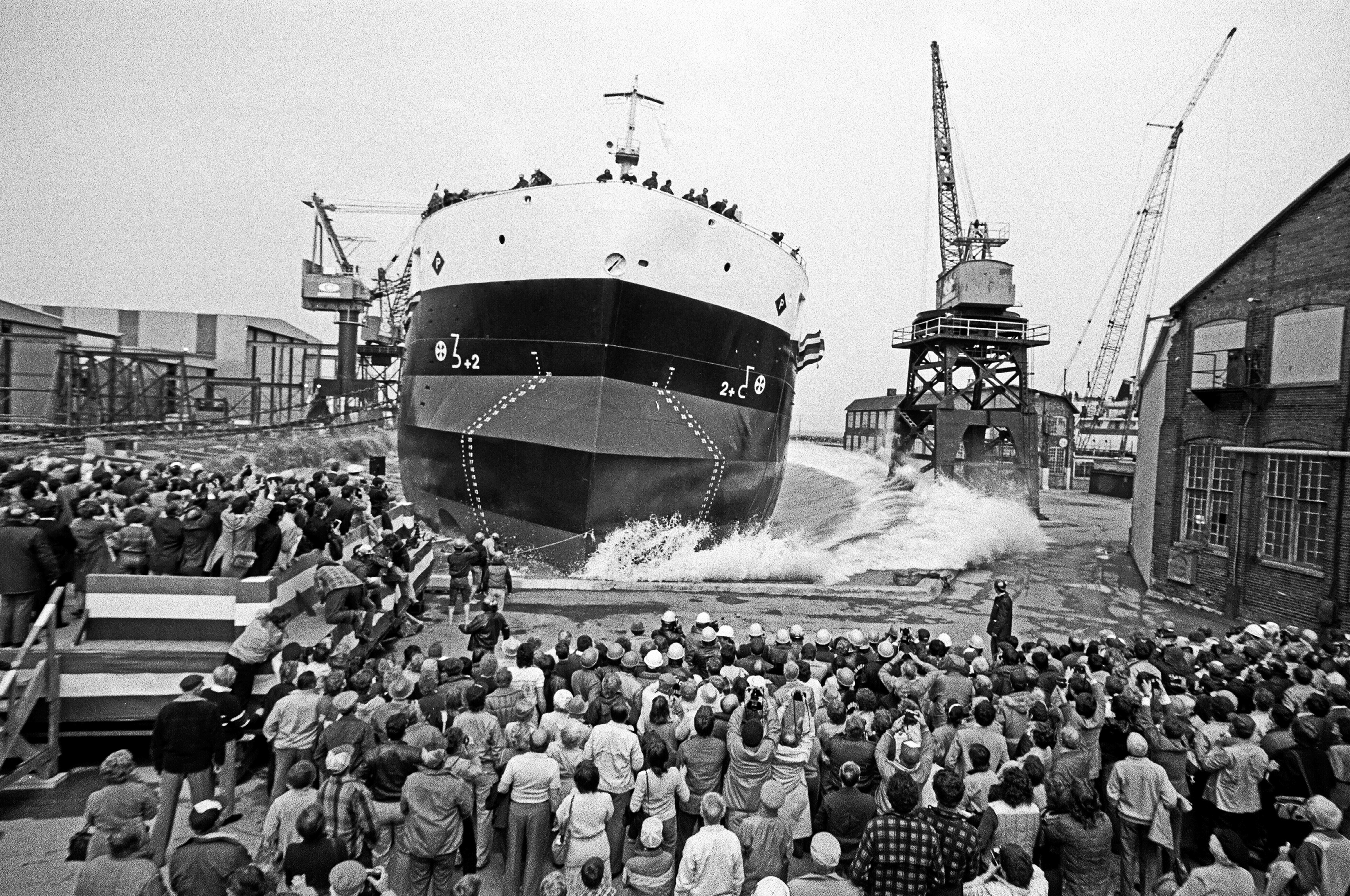 M.V. Paterson Launching 1985