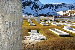 Sir  Ernest Shackleton's Grave