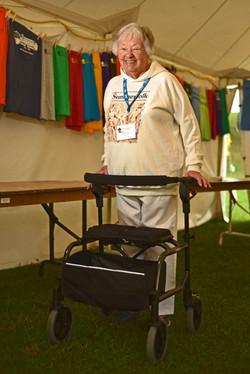 Sandi Hogg 38 years volunteering
