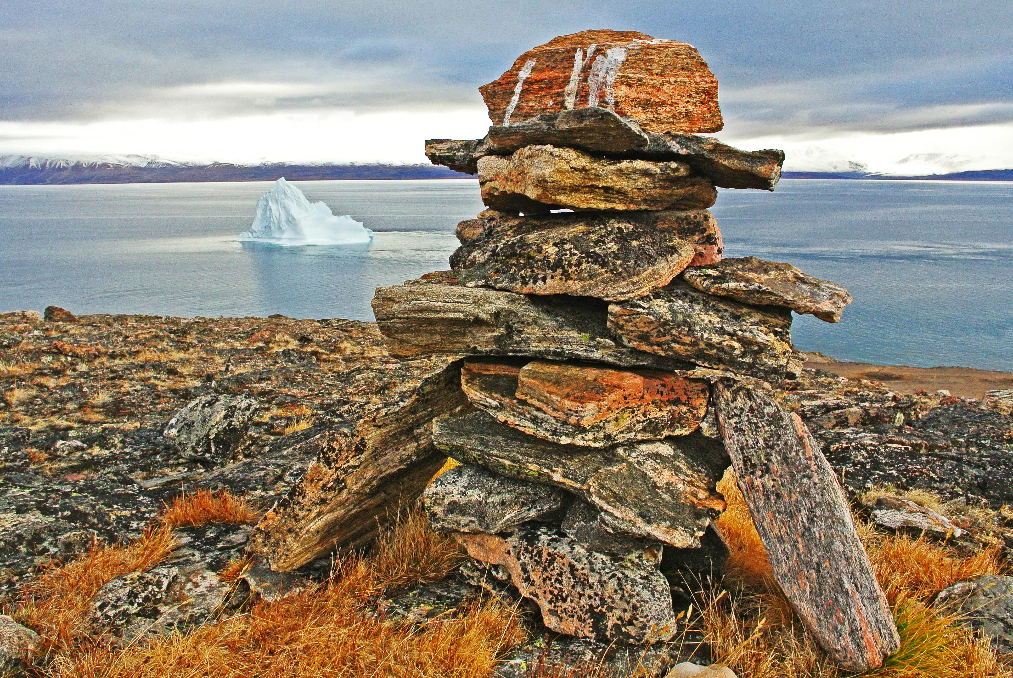 Inukshuk & Iceberg