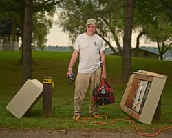 Bob Bricker 38 years volunteering