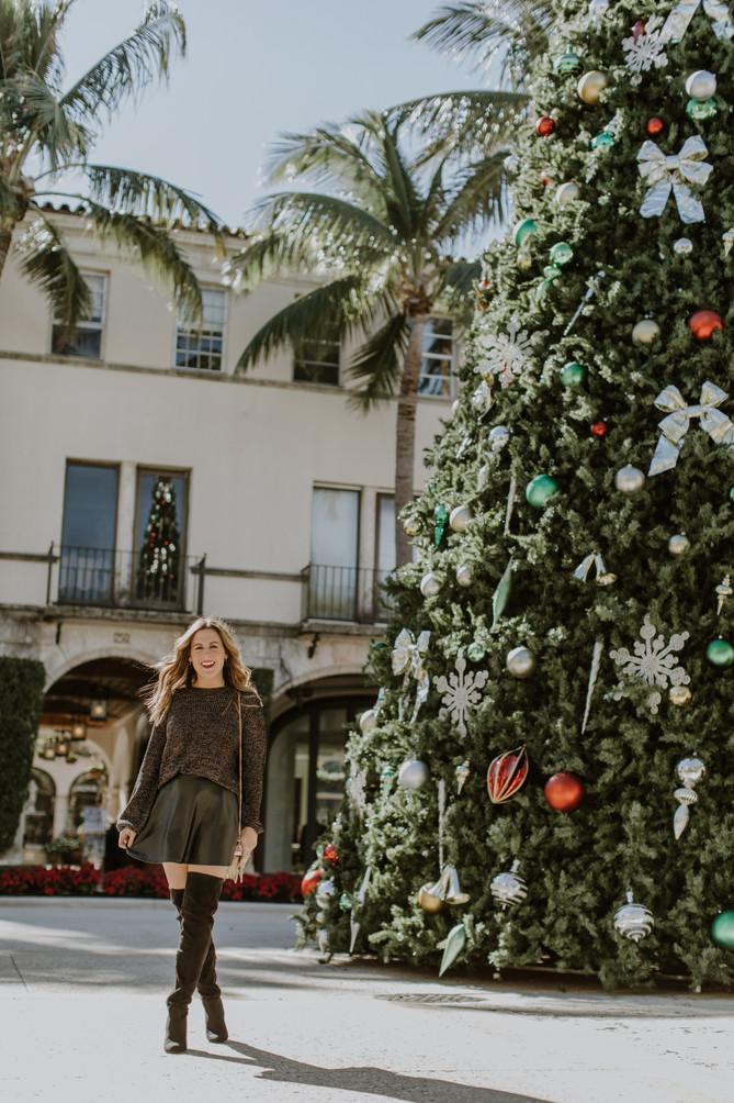 Christmas in Palm Beach