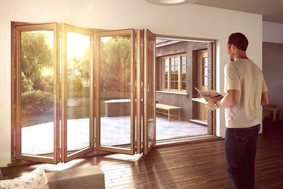 FS-портал-3, FS-портал, входная дверь рехау, пластиковая дверь рехау, входная группа, двери рехау, rehau дверь, складные двери