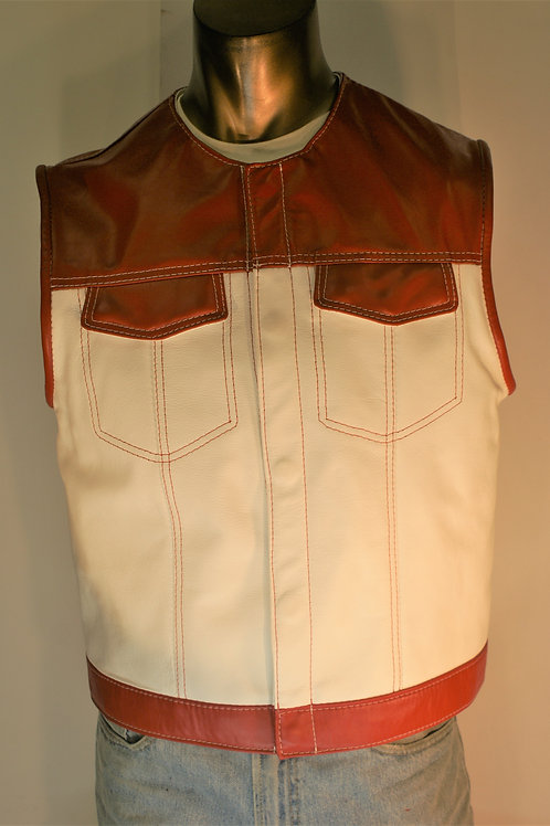 Master Cut de Luxe in Red and White, Size XL