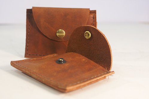 Small Latigo Wallet for Coins, Cash and Cards