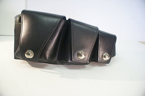 Black Rock City Dweller Pouch Belt/ Utility Belt de Luxe