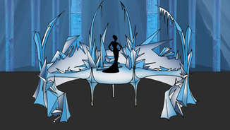 Melting Ice Queen Illusion