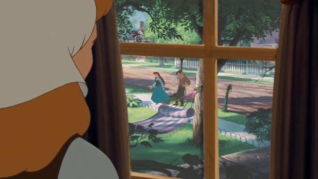 Jim Hawkins, Cinderella and Ariel