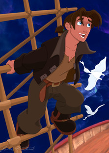 Jim Hawkins Color Page 1