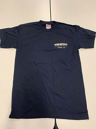 #8 Blocked T-Shirt (Navy)