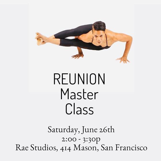 Yoga Master Class Promo