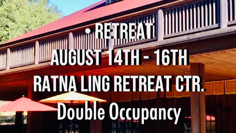 Ratna Ling Retreat (double occupancy)