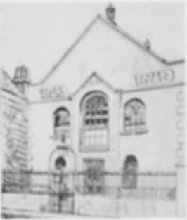 The old Salem Strict Baptist Chapel, Portsmouth