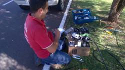 reparos em redes de fibra optica