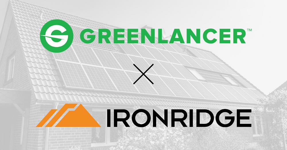 GreenLancer and IronRidge Solar Energy Partnership