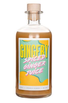 Gingery Spiced Ginger Juice