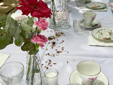 How we do High Tea at the Gardens Tearooms!