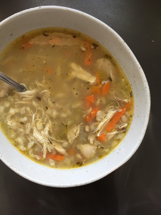 Chicken Soup (Using Chicken Bones & Carcass)
