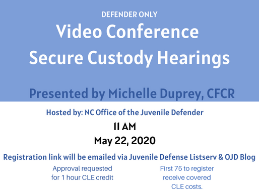 Defender Only Online CLE Training