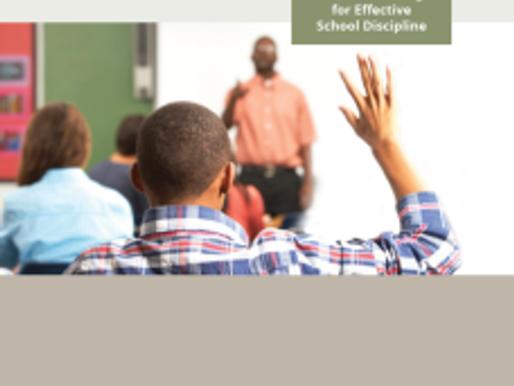 Instead of Suspension: Alternative Strategies for Effective School Discipline
