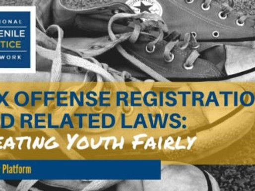 New Policy Recommendations by the National Juvenile Justice Network