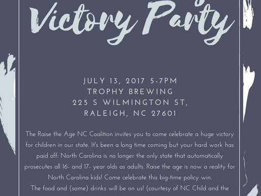 You're Invited to Raise the Age Victory Party!