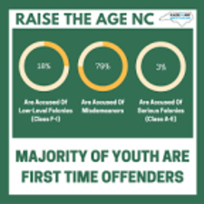 Youth Justice Project Promotes #RaisetheAgeNC Virtual Advocacy Day