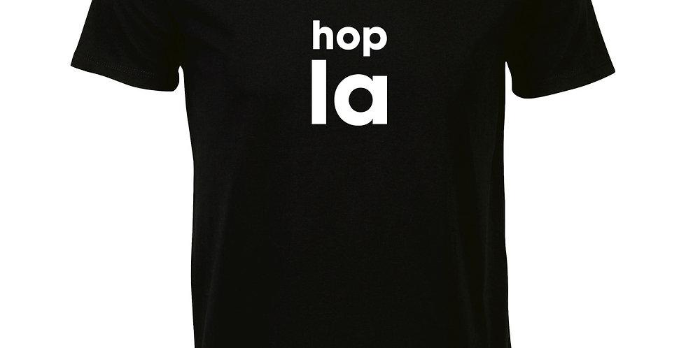 """Homme """"HOP LA"""" - black"""