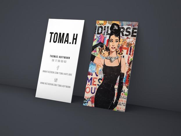 cartes de visite * artiste