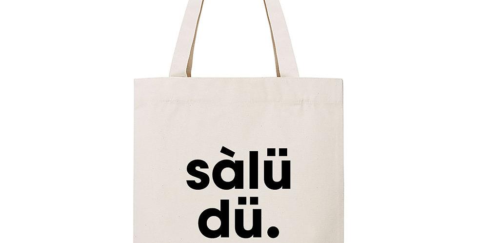 """Tote bag """"SALU DU"""""""
